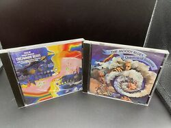 A Question Of Balance And Days Of Future Passed The Moody Blues 2 Cd Lot