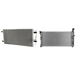 A/c Condenser And Radiator Kit For 2004 Chevrolet Impala Monte Carlo