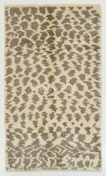 Boho Chic Moroccan Rug, 100 Natural Un-dyed Wool