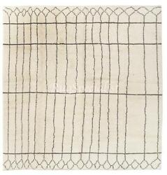 Moroccan Rug, 100 Natural Undyed Wool, Custom Options Available