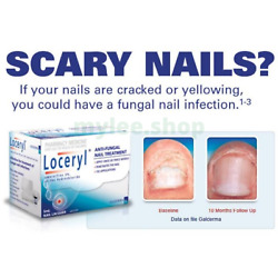 Galderma Loceryl Anti-fungal Infection Nail Treatment 2.5ml For Healthy Nail