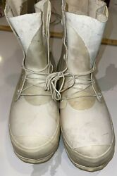 Nos White Mickey Mouse Cold Weather Arctic Military Airborne Bunny Boots 9r