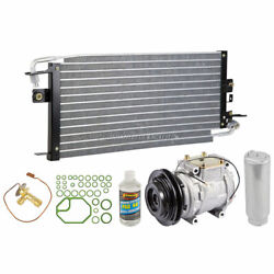 For Toyota Pickup Truck 4-cyl 89-94 A/c Kit W/ Ac Compressor Condenser Drier