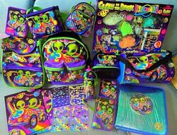 Vintage Lisa Frank Aliens Zoomer And Zorbit 1990s Collection