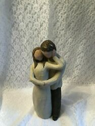 Willow Tree Figurines Together, Wedding, Lovers Gift,sculpted Hand-painted Figur