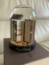 Louis Vuitton Collectible Snow Globe 2009 Vip Customer Limited Luggage Trunk