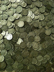 40x Buffalo Nickels Roll P D S 1913-1938 Indian 5 Cent Ag-au Us Type Big Sale