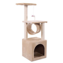 35quot;Cat Tree Tower Condo Scratching Post Pad Play House Pet Furniture