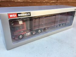Wsi Daf Super Space Cab In The Livery Of F Davidson And Cattle Trailer