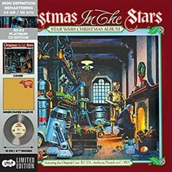 Star Wars Christmas In The Stars Album - R2-d2 Platinium Edition - Meco - Sealed