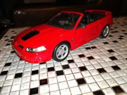 Rare 1999 Ford Mustang 35th Anniversary Promotional Kit Maisto Mustang Gt Conv.