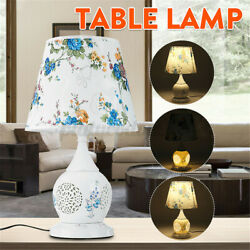 Chinese Style Ceramic Table Lamp Classical Household Bedroom Lamps Living Room