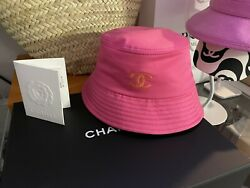 Chanel Bucket Hat New w tag Size M $1150.00