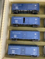 Ho Scale 187 Vintage Athearn Us Air Force 40' Box Cars Lot Of 4 Diff S Rtr Kds