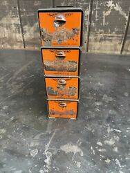 Vintage Dorman 4 Drawers Tray Small Parts Bin Industrial Hardware