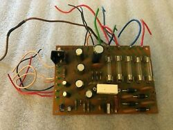 Pioneer Sx-636 Receiver Re-capped Power Supply Board