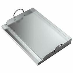 Only Fire Universal Stainless Steel Rectangular Griddle For Gas Bbq Grills 23...