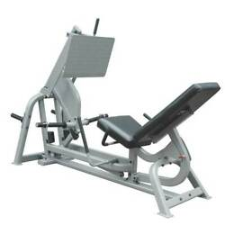 Leg Press Machine Commercial Heavy Duty Strength Training For Olympic Plates