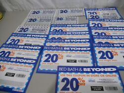 Lot Of 18- 20 Off Bed Bath And Beyond Coupons- Expired