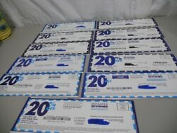Lot Of 11- 20 Off Bed Bath And Beyond Coupons- Expired