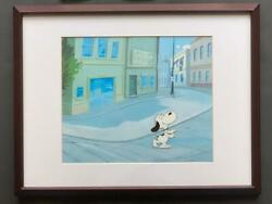 Snoopy Cels266 X 317mm Peanut Certificate Charles M. Schulz Amount 310 X 400mm