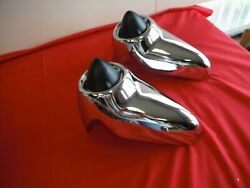 1963 Ford Galaxie 500 And Xl Rechromed Front Bumper Guards Fomoco 63