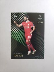 2020-21 Topps Champions League Knockout Mohamed Salah /99 Liverpool