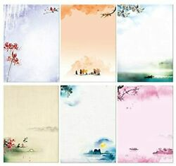 Stationary Set Japanese Stationery Letter Writing Paper 48 Pack Stationary Paper