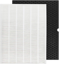 Hepa Filter H 116130 For Winix 5500-2 Air Purifier Carbon Combo Pack