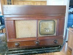 Antique 1947 Majestic Wire Recorder Phonograph Radio Rare With Microphone