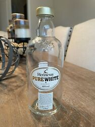 Rare Hennessy Pure White Cognac Empty Liquor Bottle Collectible Not Sold In Usa