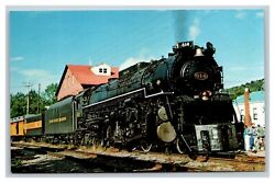 Vintage 1980 Postcard Chesapeake And Ohio Greenbrier In New Martinsville Wv