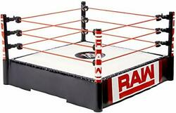 Wwe Superstar 14-inch Ring With Authentic Logo Flexible Ropes And Spring-loaded...