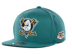 2013 - 2014 Anaheim Mighty Ducks 20th Anniversary Mitchell And Ness Fitted Hat