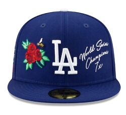 Official Mlb Local Icon Los Angeles Dodgers New Era 59fifty Fitted Hat