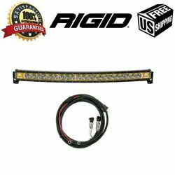 Rigid Industries Radiance+ Curved 40back-light Amber W/multi-trigger Harness