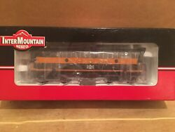 Ho Intermountain Bessemer And Lake Erie F7a Diesel Locomotive Bandle 708 Sound