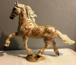 Breyer Horse Traditional Custom Noelle Goffert Friesian Bedazzaled With Beads