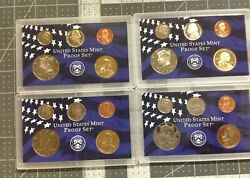 2000s/2001s/2002s/2003s Partial Proof Sets Kennedy Dime Nickel Cent Dollar Coins