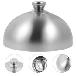 1pc Anti-rust Reusable Durable Food Dome Stainless Steel For Hotel Restaurant