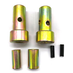 Pair Of Cat 1 Quick Hitch Adapter Bushings Category I 3-pt Tractor, Bushing Set