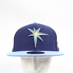 Tampa Bay Rays New Era Fitted Hat Unisex Blue/navy New With Tags