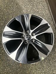 18and039and039 Toyota Highlander Machined Gray Oem Factory Wheel Rim 2019 2020 75264