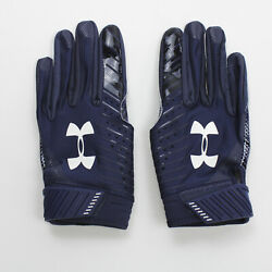 Houston Texans Under Armour Gloves - Receiver Menand039s Navy New With Tags Xl