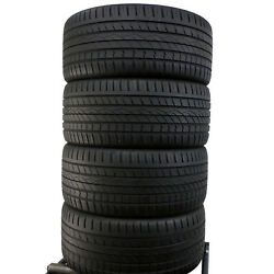 4 X Continental 295/35 R21 107y Xl 5-6 3mm Cross Contact Uhp Dot16
