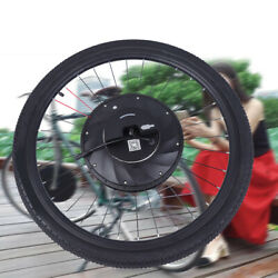 240w Front Wheel Electric Bicycle Conversion Kit Front Hub Motor 20 In/24 In New