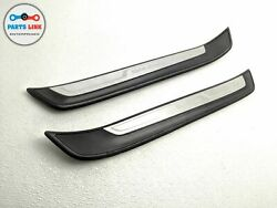 2013-2015 Bmw X1 35i E84 Xline Front Left And Right Door Sill Scuff Cover Set Oem