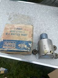 Nos Oem Ford 1961 1965 Washer Pump Galaxie Fairlane Mustang Truck 1962 1963 1964