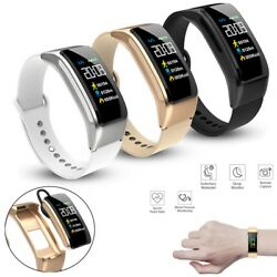 2 In 1 Bluetooth Smart Watch Handsfree Calling Bluetooth Headset For Cell Phone