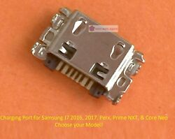Micro Usb Charging Charger Port Replacement Part For Samsung J7 Prime Perx Neo